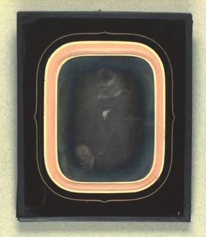 Portræt af Varemægler Qvistgaard