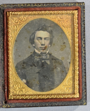 Case and daguerrotype may not belong together