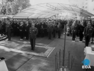 Εορτασμός της προστάτιδας του Πυροβολικού Αγίας Βαρβάρας παρουσία του Αντιβασιλέα Γεώργιου Ζωιτάκη στη Σχολή Πυροβολικού στο Μεγάλο Πεύκο