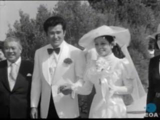 Γάμος της Ιαπωνίδας τραγουδίστριας Νίκι Ναγκασούε στον λόφο του Φιλοπάππου στην Αθήνα