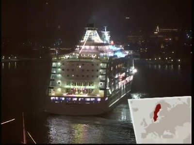 Europa bei Nacht: Party-Szene Stockholm