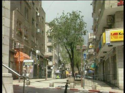 Menschenleeres Jerusalem