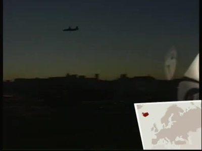 Europa bei Nacht: Reykjavik