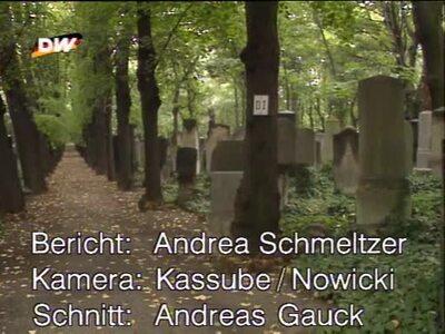 Archiv Jüdischer Friedhof Weissensee