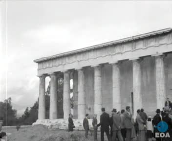 Συμβολική δενδροφύτευση στην Αρχαία Αγορά των Αθηνών από το Σύλλογο των Αθηναίων