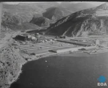 Επίσκεψη του Υπουργού Συντονισμού Νικολάου Μακαρέζου στο εργοστάσιο της ΑΕ Αλουμίνιον της Ελλάδος στο Δίστομο