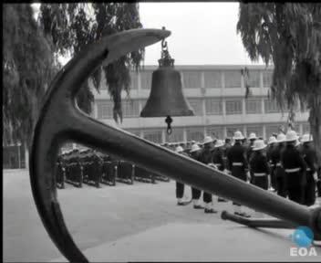 Εορτασμός του Αγίου Νικολάου και της 65ης επετείου των ναυμαχιών των Βαλκανικών Πολέμων στη Σχολή Ναυτικών Δοκίμων, παρουσία του Προέδρου της Δημοκρατίας Κωνσταντίνου Τσάτσου.