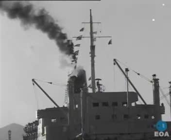 Εορτασμός του προστάτη του Ναυτικού Αγίου Νικολάου παρουσία του Βασιλιά Κωνσταντίνου στον Πειραιά
