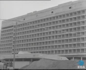 Θεμελίωση κτηριακών εγκαταστάσεων της Πολυτεχνειούπολης Ζωγράφου και εγκαίνια κτηρίων της Σχολής Αγρονόμων και Τοπογράφων Μηχανικών του Εθνικού Μετσόβιου Πολυτεχνείου από τον Υπουργό Εθνικής Παιδείας και Θρησκευμάτων Νικόλαο Γκαντώνα