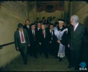 Αναγόρευση του Πρωθυπουργού σε επίτιμο διδάκτορα του Πανεπιστημίου της Μπολώνια
