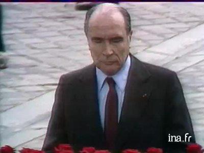 Investiture of François Mitterrand