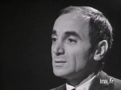 Charles Aznavour, Je m'voyais déjà