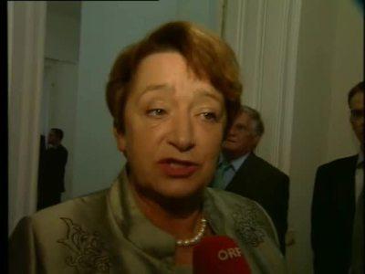Bildungsministerin Elisabeth Gehrer - ein Rückblick
