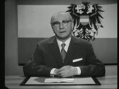 Neujahrsansprache des Bundespräsidenten Franz Jonas