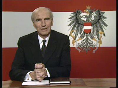 Neujahrsansprache des Bundespräsidenten Rudolf Kirchschläger