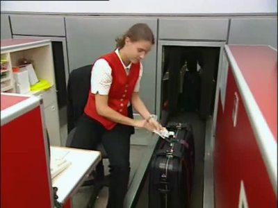 Koffer auf Reise