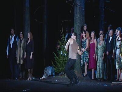 BALKON SZENE: Don Giovanni - Premiere mit Erwin Schrott