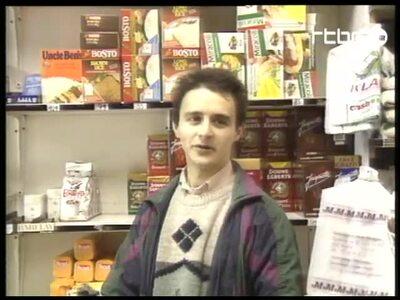 News bulletin 17/1/1995 (A shop for deprived people)