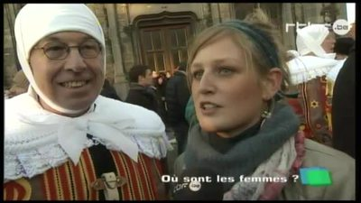 Day by day 8/3/2011 (Woman's day in Binche)
