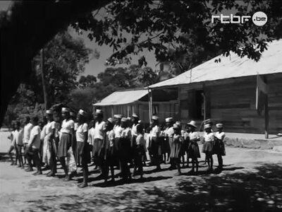 Open-air class in Madagascar