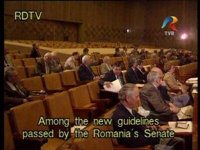 Legislative activity in the Senate