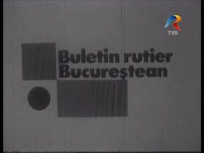 Bucharest traffic bulletin 31.03.1982