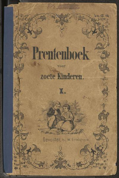 Prentenboek voor zoete kinderen. X