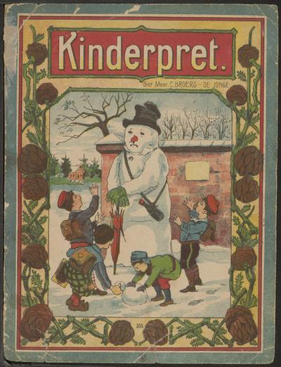 Kinderpret: door Mevr. C. Broers-de Jonge