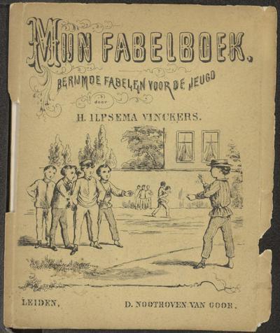 Mijn fabelboek: berijmde fabelen voor de jeugd door H. Ilpsema Vinckers