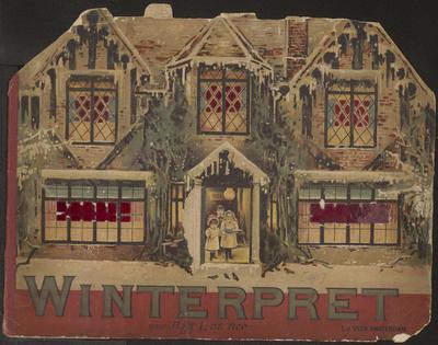 Winterpret: door Ant. L. De Rop
