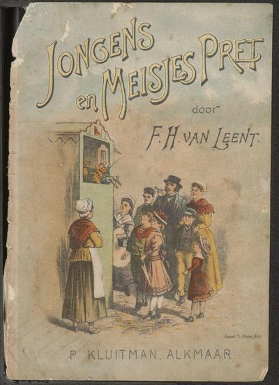Jongens en meisjes pret: door F.H. van Leent