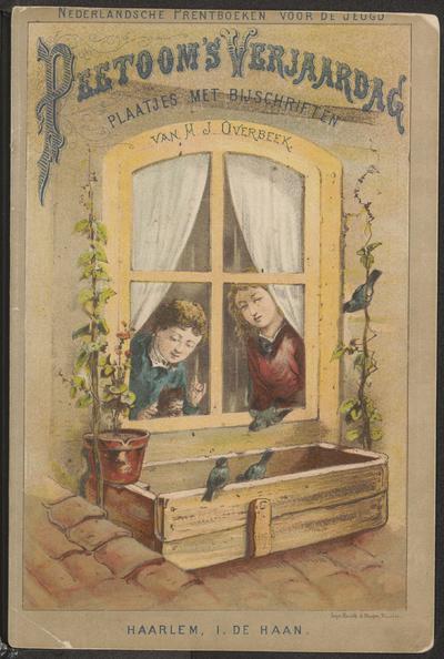 Peetoom's verjaardag: plaatjes met bijschriften van H.J. Overbeek