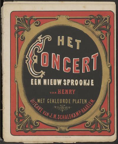 Het concert: een nieuw sprookje van Henry