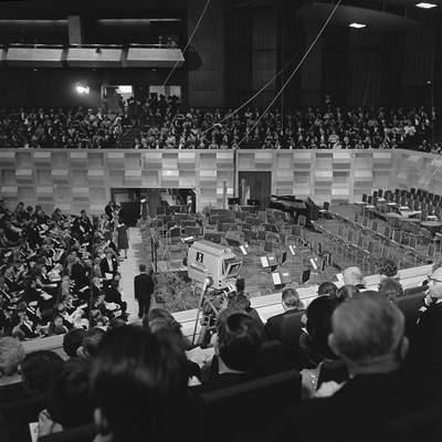 OPENING VAN DE DOELEN IN ROTTERDAM - 18-05-1966