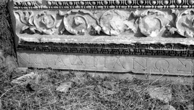Building dedication for Hadrian