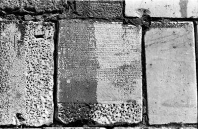 Funerary inscription for Ulpius Claudius Chariton