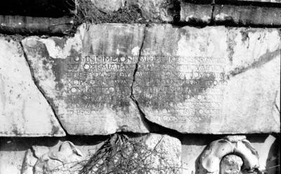 Funerary inscription for T. Aelius Epaphrodeitos