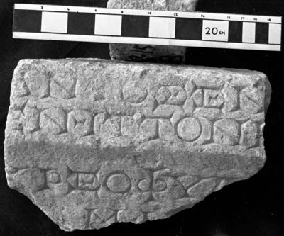 Funerary fragment, II-III cent.