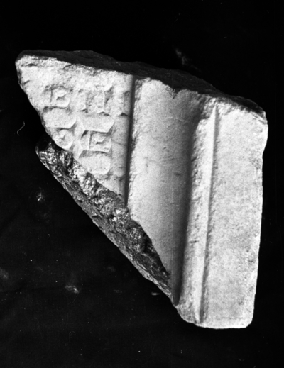 Fragmentary honours from Temple