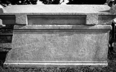 Funerary inscription for Marcus Aurelius Athenagoras