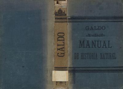 Manual de historia natural: obra escrita para uso de los alumnos de segunda enseñanza en las universidades, institutos ...