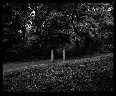 Miedzianka - resztki ogrodzenia kościoła [Dokument ikonograficzny]