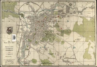 Plan Miasta Jelenia Góra