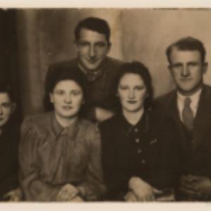 Dow Sztatfeld z rodziną