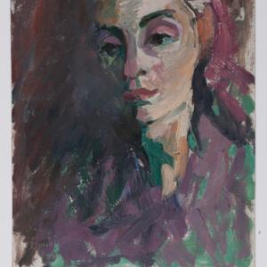 Portret żydowskiej dziewczyny
