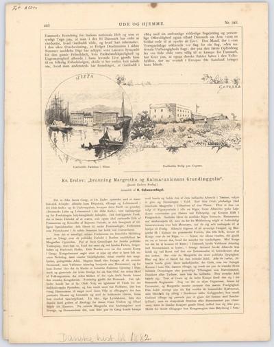 Garibaldis Fødehus i Nizza og Bolig paa Caprera