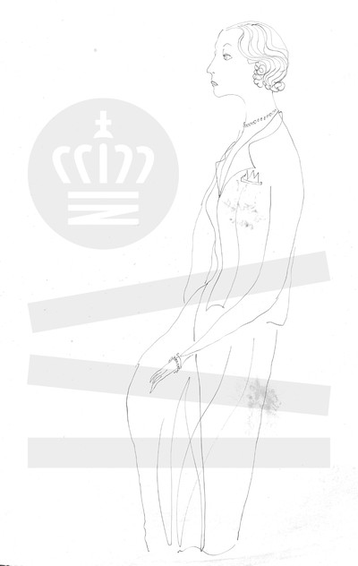 Kvinde i maskulint tøj