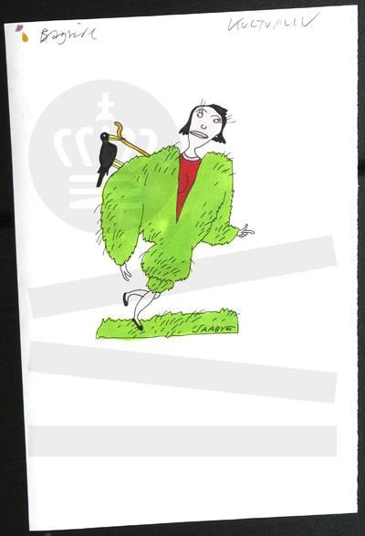 Græsgrøn jakke