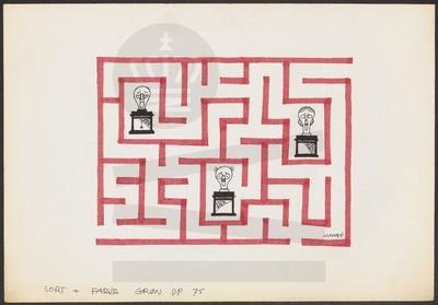 Stempler i en labyrint