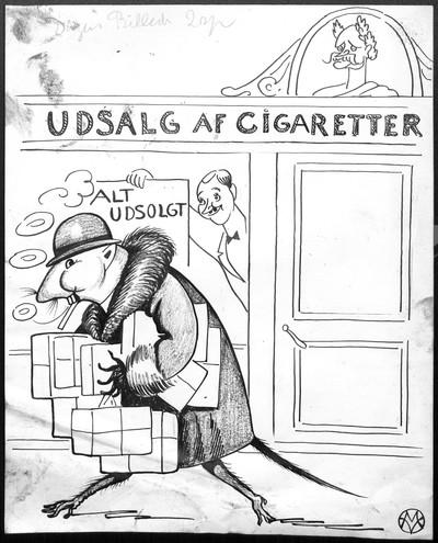 I Gaar blev Cigaretbeskatningen vedtaget i Folketinget!